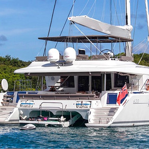 Sail Away in the British Virgin Islands on a Catamaran