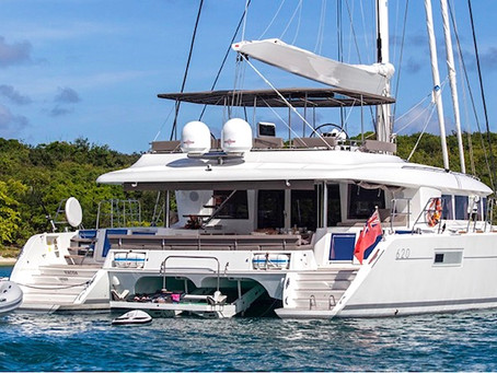 Sail Away in the British Virgin Islands on a Catamaran