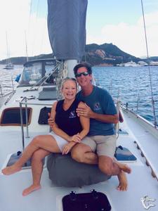 Captain Randy and Shelly Tucker CYBA Yacht Charter Brokers