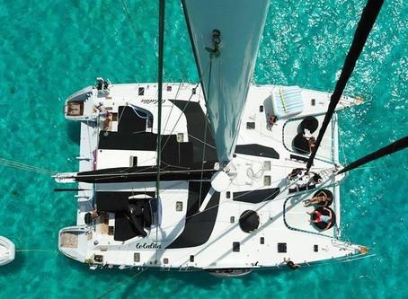 Catamaran Lolalita Guests Had Fun on Their Crewed Yacht Charter Vacation!