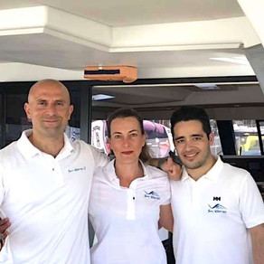 Client Review: Catamaran Charter Sailing from Athens to Mykonos