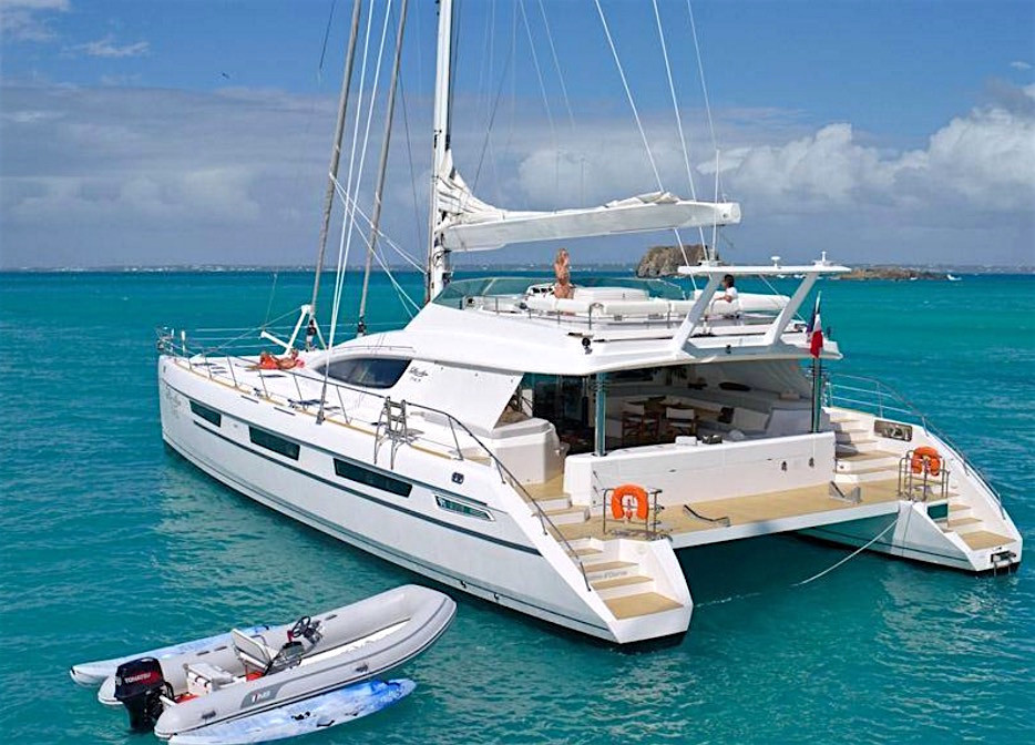 Xenia 74 Crewed Yacht Charter Vacation Catamaran