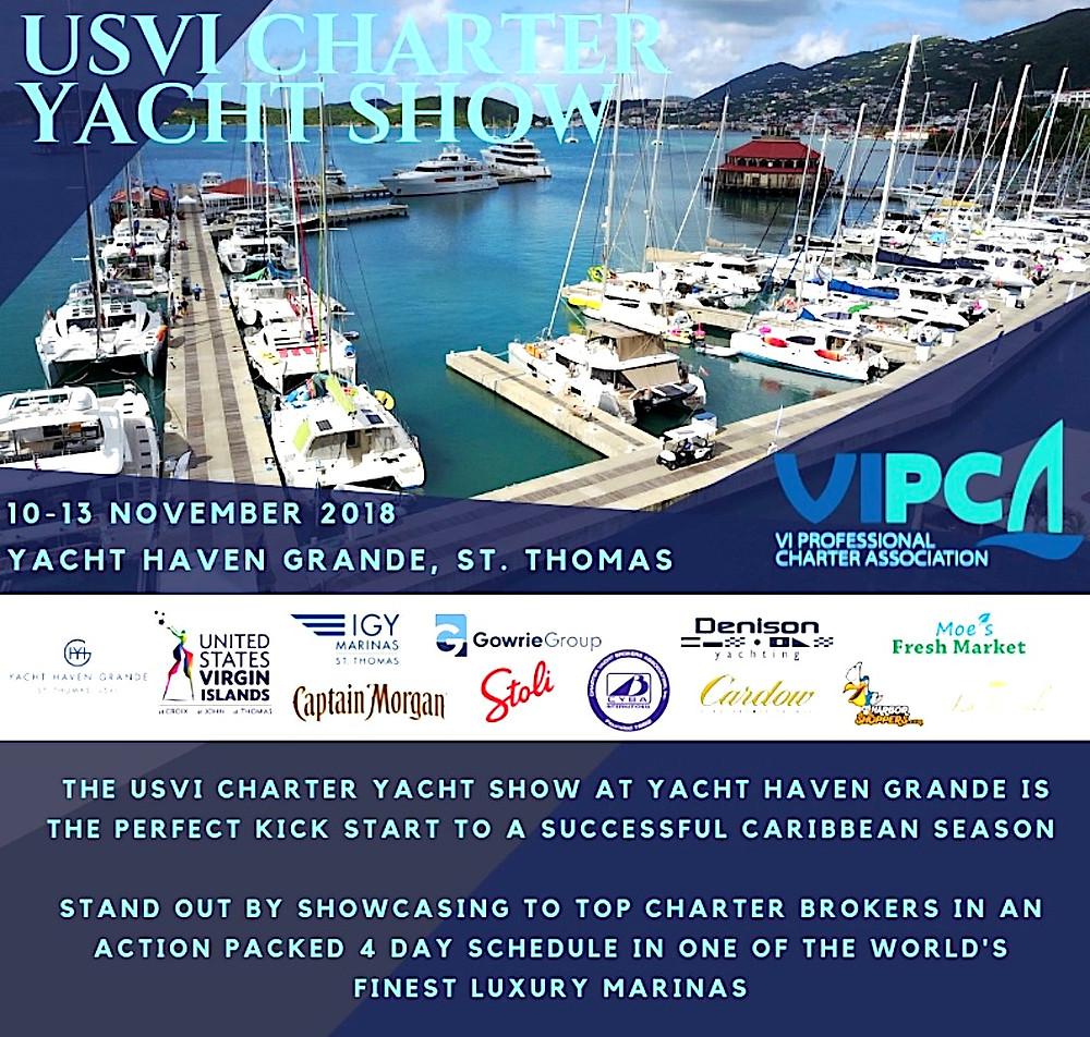 VIPCA Yacht Charter Show 2018