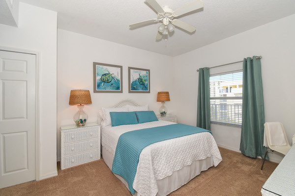 Ocean Walk Condo Queen Bedroom