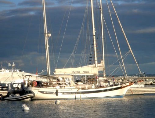 Sail Crystal Clear yacht charter Virgin Islands