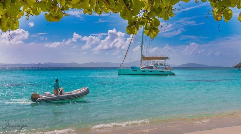 Catamaran Good Vibrations in the Virgin Islands