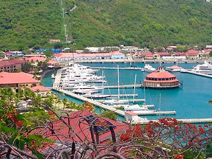 Yacht Haven Grande Marina in St. Thomas USVI Crewed Yacht Catamarans and Motor Yachts