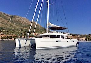 Catamaran Amazing Lady Crewed Yacht Charter Boat