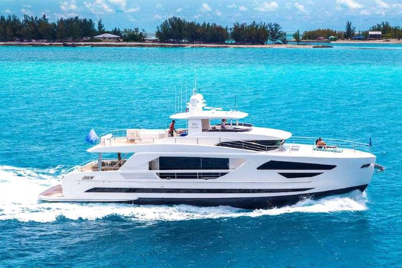 Crewed Yacht Charter Vacations on Motor Yacht Angeleyes