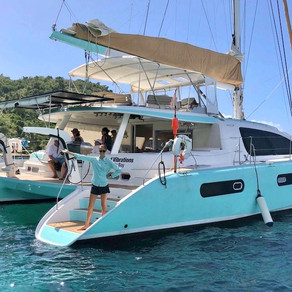 62' Catamaran Good Vibrations Yacht Charter Vacation in the Virgin Islands