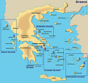 Where to Charter a Yacht in Greece