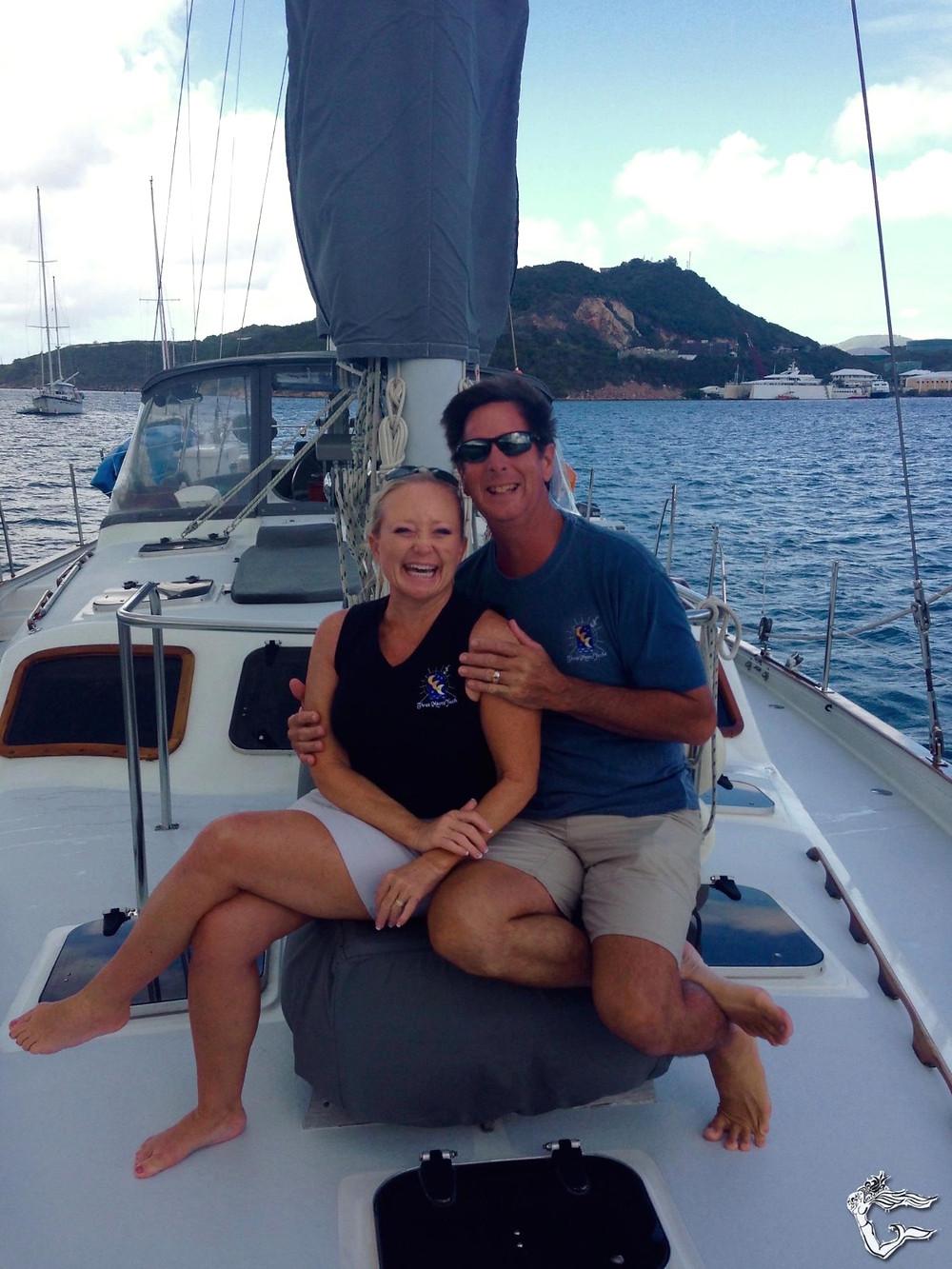 Capt. Randy and Shelly Tucker Yacht Charters Guru