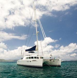Hypnautic catamaran discount crewed yacht charter