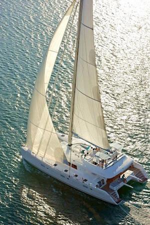 Foxy Lady Catamaran luxury crewed yacht charter