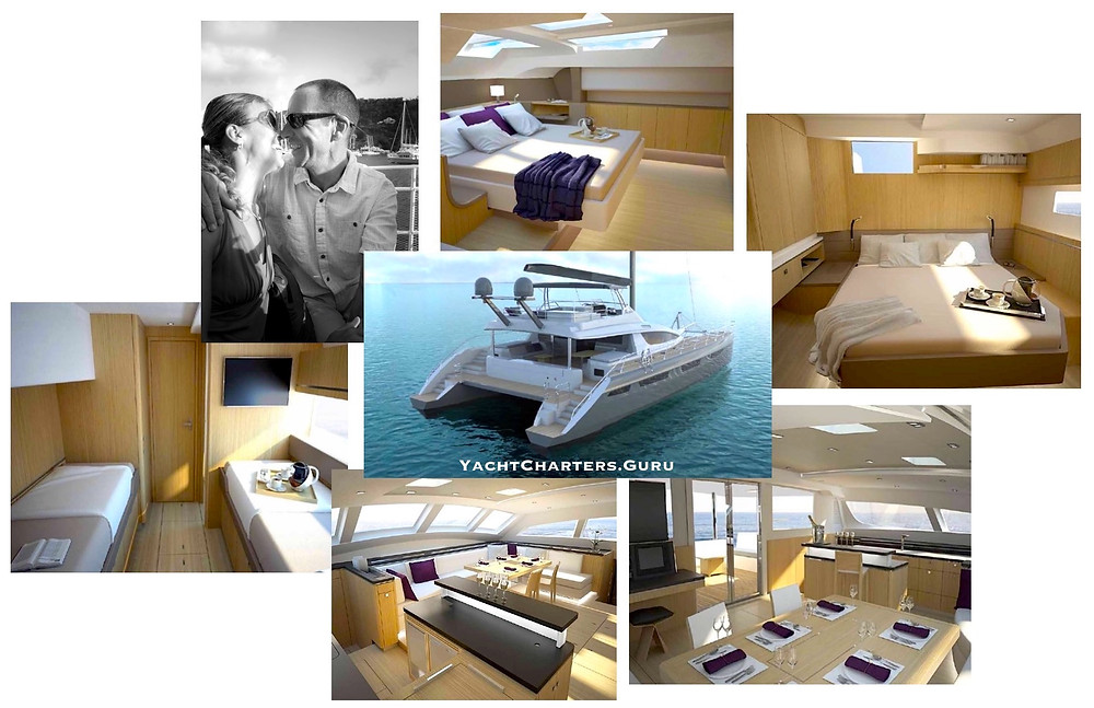 Catamaran Namaste Private Crewed Charters