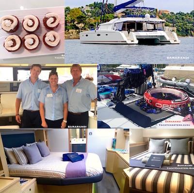 Bamarandi Crewed Yacht Charter Sailing Vacations