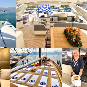 Five Things We Learned at The Mediterranean Yacht Show in Nafplio, Greece
