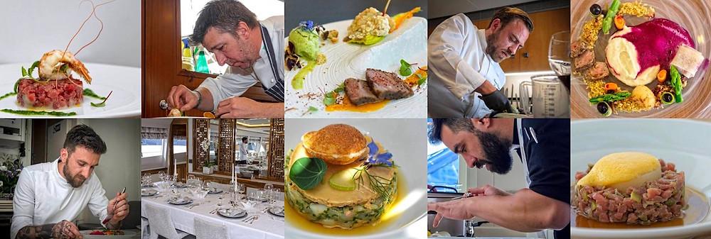Mediterranean Yacht Charter Show Award Winning Chefs 2018