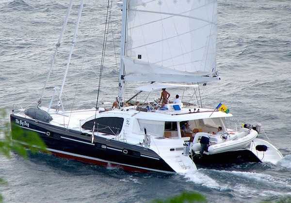 The Big Dog Crewed Yacht Catamaran Charter