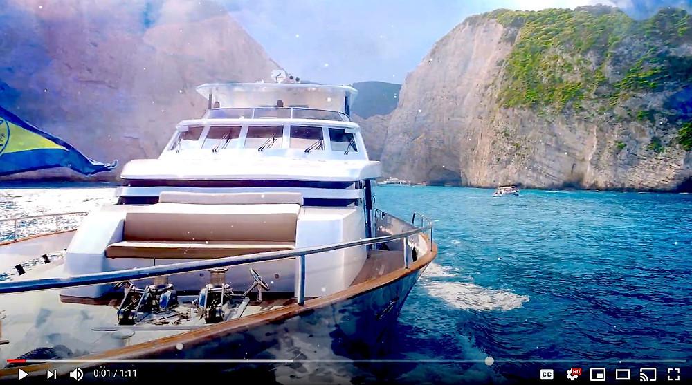 Sail the Greek Islands aboard Motor Yacht Mia Zoi on My Greek Odyssey!