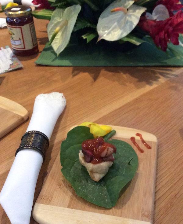 Catamaran Vacation Charter Cuisine on Manna