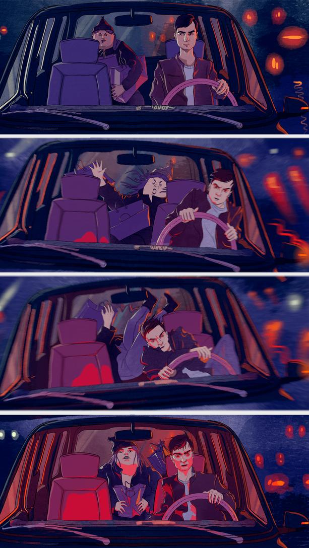 ‹‹Как я работал в такси››