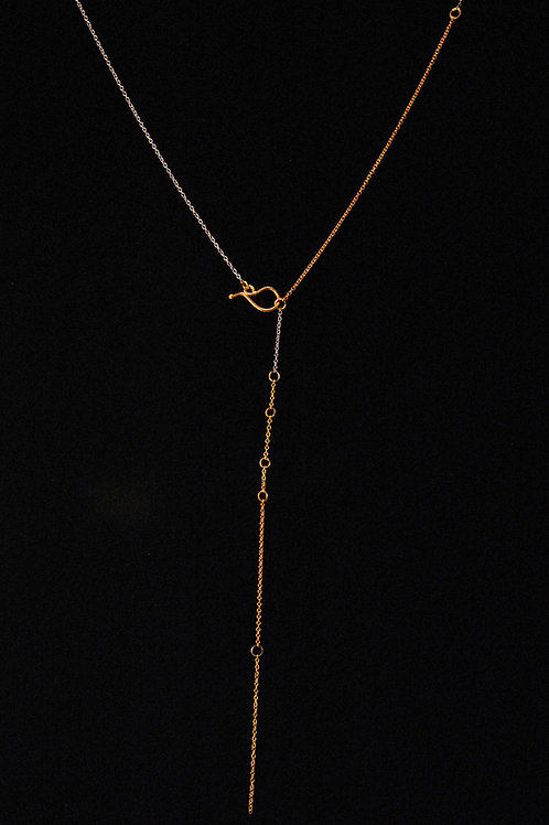 gold line lariat