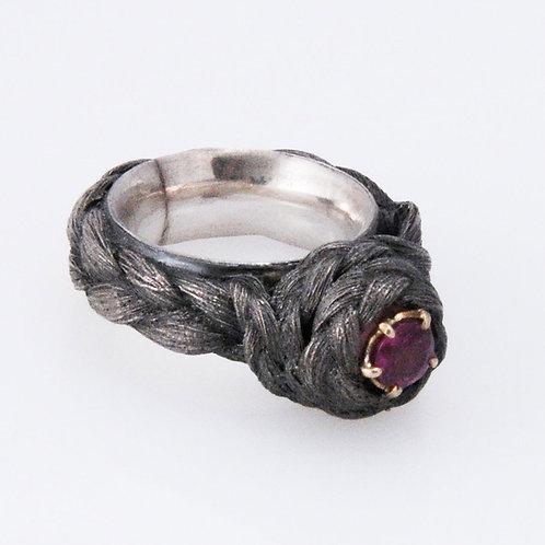 victorian hair ring