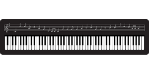 It's all quite logical, this playing with a piano/keyboard.