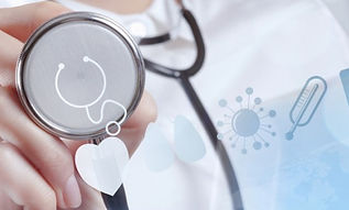 stethoscope by a doctor