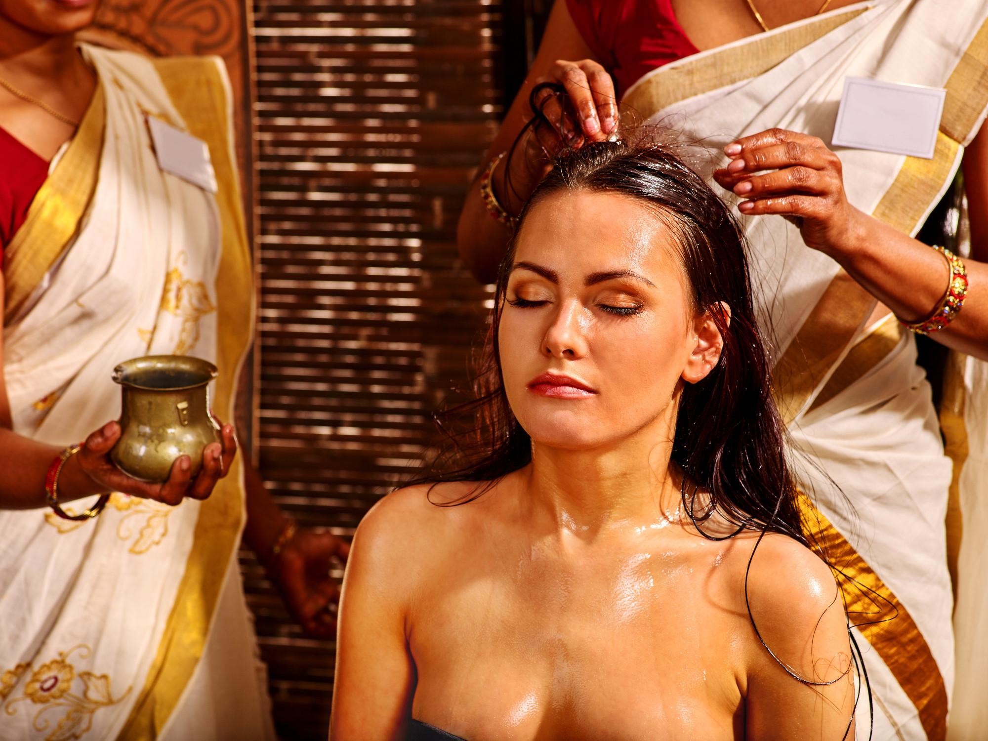 Nadi-Marma-Schädelmassage