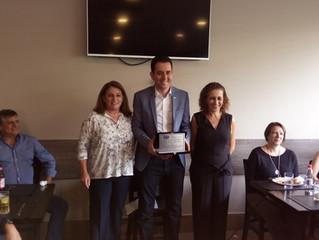 AEASA confere o título de Sócio Honorário ao Prefeito Paulo Serra