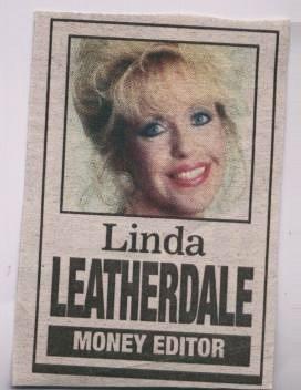 Linda Leatherdale Former Money Editor of The Toronto Sun