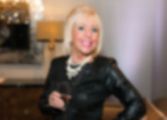 Linda Leatherdale taken by Dolce Magazine at luxury furniture and accessories retailer Arteriors