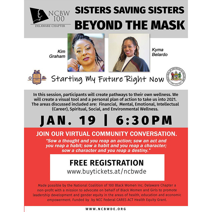 """Sisters Saving Sisters: Beyond the Mask, """"Starting My Future Right Now"""""""