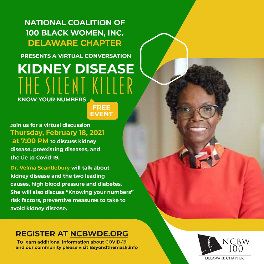 Kidney Disease The Silent Killer Know your Numbers