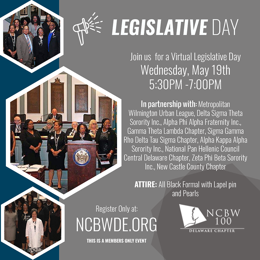 LEGISLATIVE DAY (This is a Members Only Event)