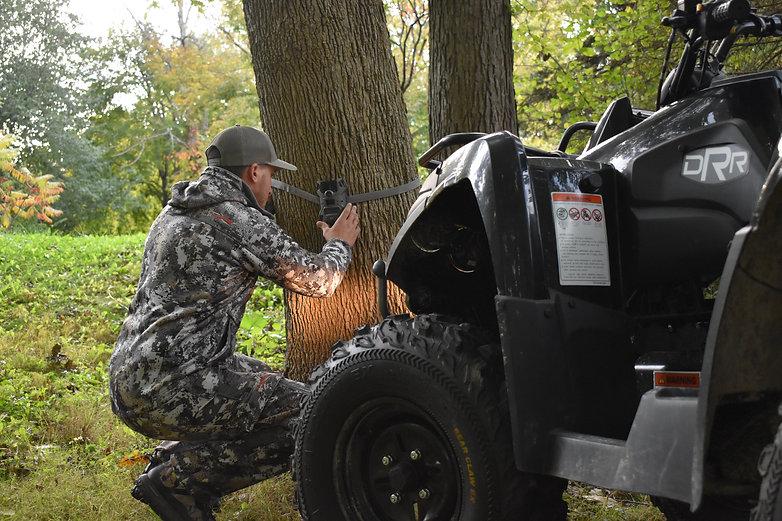DRR USA EV Stealth electric ATV used for hunting