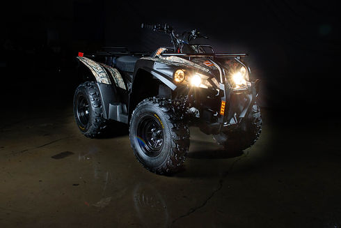 DRR USA's electric atv EV Safari