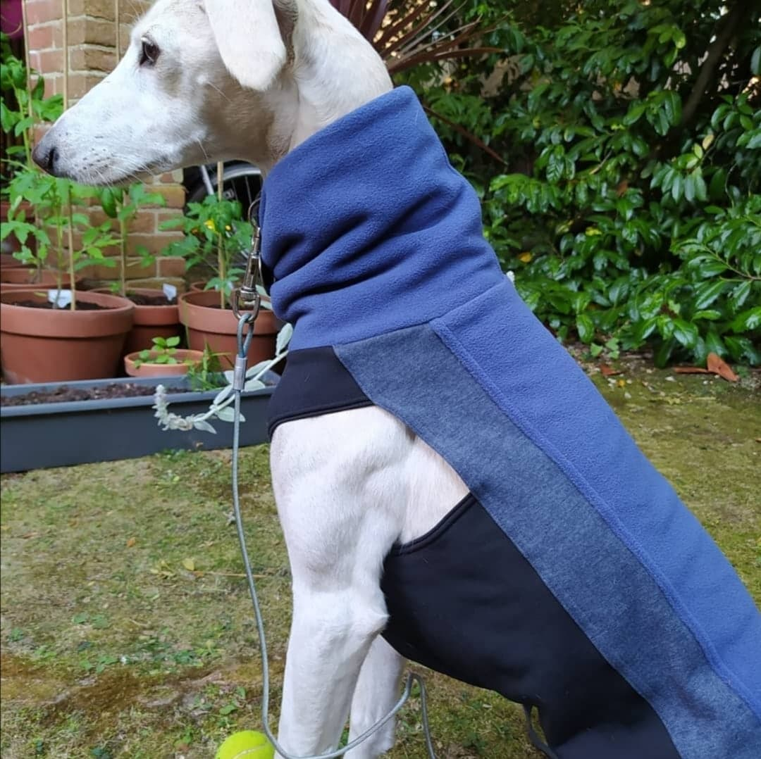 Greyhound Lurcher Fleece Jumper Skye
