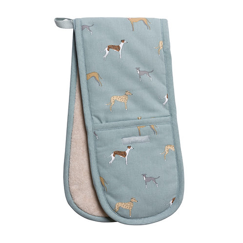 Sighthound Oven Glove | Pointy Faces whippet lurcher greyhound gifts