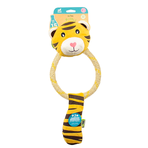 Pointy Faces Best Dog Toys for Greyhounds. Tilly the Tiger