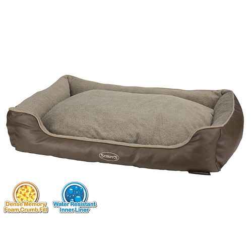 Best Dog Bed for Whippets UK Brown Tan