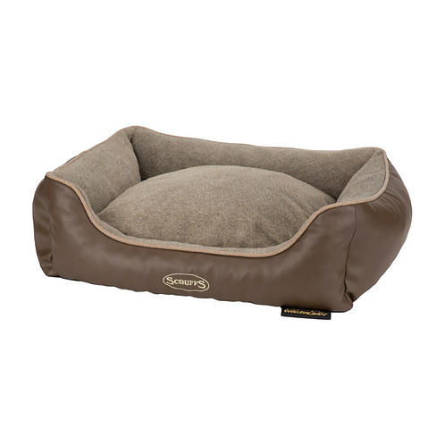 Whippet Bed UK Brown Tan