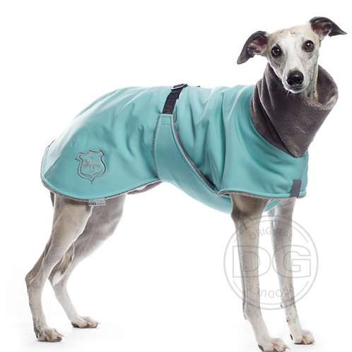 Whippet Fluffy Jacket in Mint