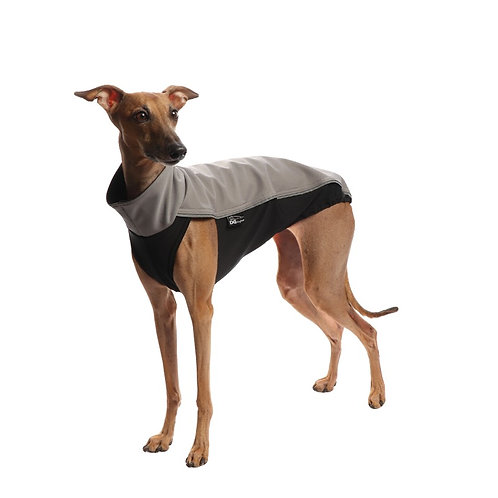 Outdoor Whippet Lurcher Greyhound Jacket. Grey Sighthound Jumpers UK