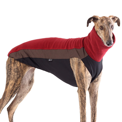whippet lurcher greyhound Jumper. Red sighthound pyjamas UK