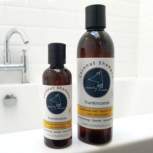 Organic Frankincense Dog Shampoo. Best Quality Shampoo for Dogs