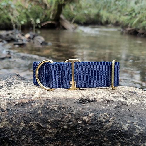 "1.5"" Standard Collar in Navy Webbing"