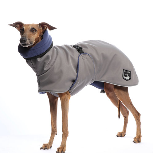 Sighthound Outdoor Warm Plus Coat in Grey and Blue